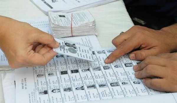 Voter I-card or photo documents for casting vote