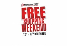Brand Factory Announces Free Shopping Weekend