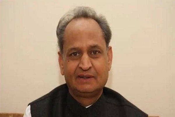 cm Gehlot expressed on Naval officer Ajit death