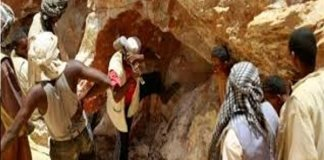 three workers killed, 10 siege after the collapse of a gold mine in Sudan