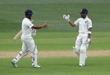 India's grip with 166-run lead Against Australia