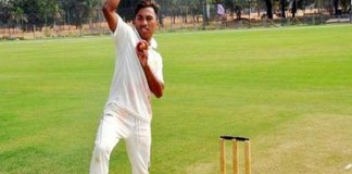 Rex rajkumar of Manipur took 10 wickets in an innings