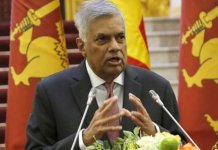 Ranil Wickremesinghe to take oath as sri lankan PM on Sunday