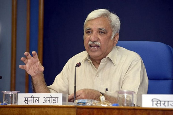 New Chief Election Commissioner Sunil Arora takes charge