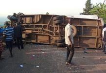 Ugandan road accident killed 19 people
