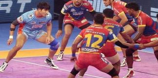 UP Warrior Pro Kabaddi League in playoff,Champion Patna Pirates Out