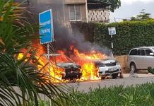 15 killed, 30 injured Dusite hotel blast in Nairobi
