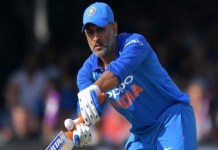 Mahendra Singh Dhoni completes 10 thousand runs in ODIs