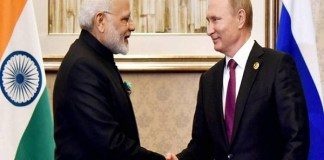 Putin and Modi discuss international issues including terrorism