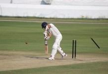 Madhya Pradesh's team lost to 7 wickets