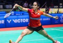Saina Nehwal in Malaysia Masters Badminton Tournament Semifinals