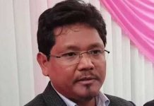 National People Party chief Conrad Sangma