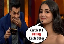 Ananya Pandey CONFESSED About Her Relationship With Kartik Aryan