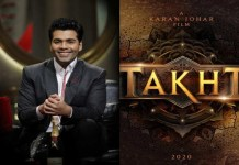 Karan Johar very excited about Takht movie