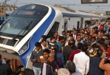 'Vande Bharat Express' first commercial run Delhi for Varanasi