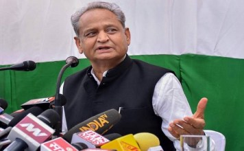 Ashok Gehlot attack bjp came to power, democracy is in danger