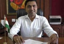 Pramod Sawant takes oath as goa cm with 11 ministers