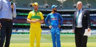 Australia won the toss and decided to bat first in ind v aus 5th odi