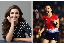 Parineeti Chopra as Saina Nehwal's character