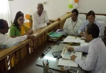 Maneka Gandhi filed nomination from Sultanpur