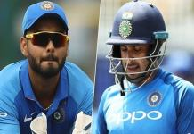 Ambati Rayudu, Rishabh Pant and Navdeep Saini will alternative players in world cup