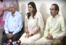Priyanka Chaturvedi joins Shiv Sena in presence of Uddhav Thackeray