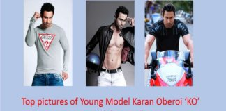 6 top pictures of Young Model Karan Oberoi 'KO' Hot,sexy model pic wallpapers