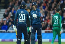 England defeated Pakistan by three wickets in series 3-0