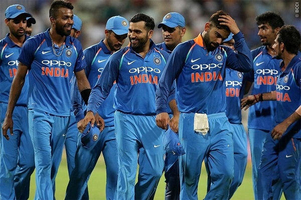 Indian cricket team leaves for ICC World Cup