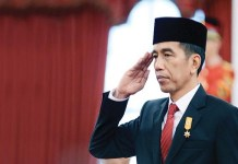 Joko Vidodo defeated General Probovo Subantino again slected President of Indonesia