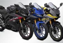 YAMAHA YZF-R15 V3.0 2019 versionPowerful bike launches in 3 new color options