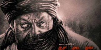 On birthday of Sanjay Dutt he gave his fans Surprise, released the poster of KGF-2