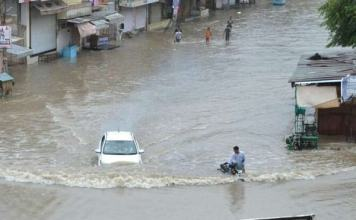 Flood-like conditions due to heavy rains in many districts of Rajasthan