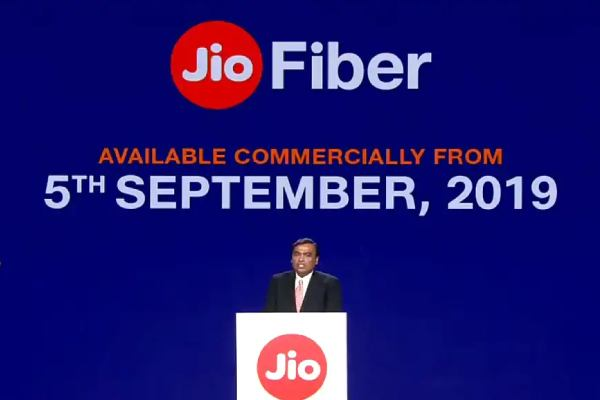 Reliance Jio GigaFibre plan and speed