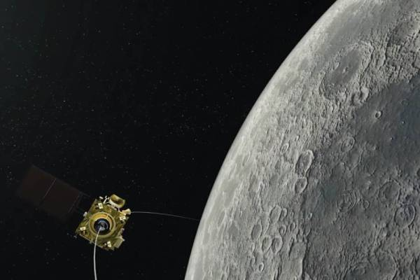 Chandrayaan-2 successfully entered the first orbit of the moon