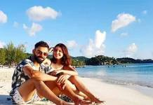 virat kohli shared an adorable photo with wife anushka sharma