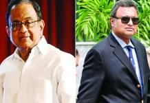 p chidambaram son karti have-tennis club and Cinema in foreign claims ed