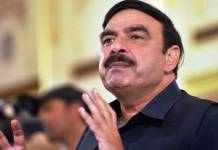 pakistan rail minister sheikh rasheed ahmad beaten in london