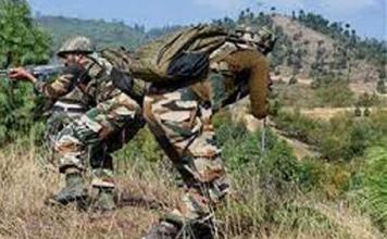 Pakistani soldiers opened fire on the Line of Control in Nowshera sector