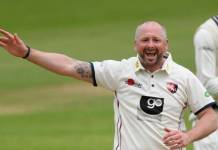 Darren Stevens hit a double century at the age of 43