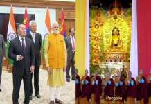 Modi unveiled statue of Lord Buddha in Mongolia, 3600 km from Delhi itself