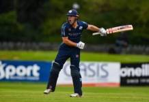 Scotland record third-highest T20 stand in win over Netherlands