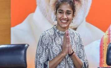 Will fight against social evils and problems Babita Phogat