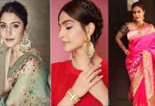 Karva Chauth 2019 saree fashion beauty