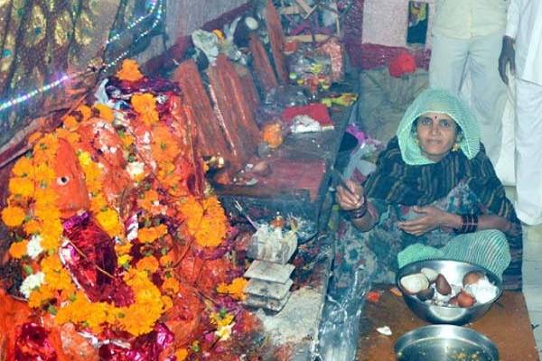 The only temple in the world where only women priests worship