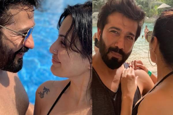 kamya-punjabi-shared-bikini-photos with-boyfriend-shalabh-dang