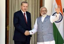 PM Modi gives strong message to Turkey on Kashmir issue in support of Pak