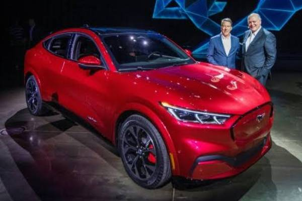 Ford launches first electric car Mustang Mach-E