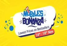 flipkart-mobiles-bonanza-sale-starts-14-to-18-november-know-offers