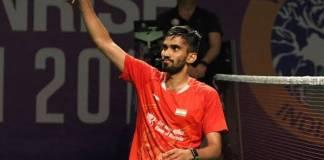 Srikanth reached semifinals of Hong Kong Open Badminton